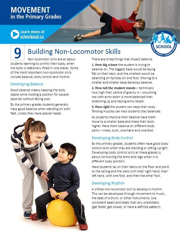 Movement in the Primary Grades: Building Non-Locomotor Skills