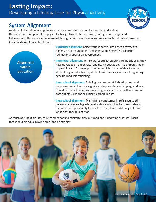 Lasting Impact: System Alignment